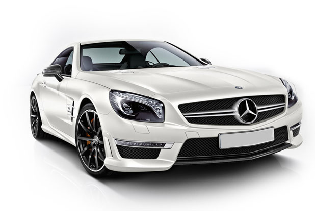 Mercedes SL63 AMGV8 Turbo