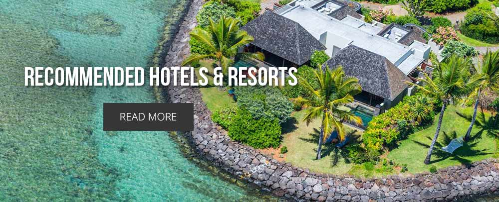 Recommended HOTELS & RESORTS Mauritius