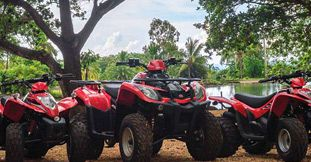 Quad Biking, Tube Ride & Ziplining in the West of Mauritius