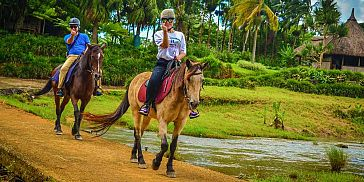 A horseback excursion in one of the most beautiful nature rich domains of Mauritius.