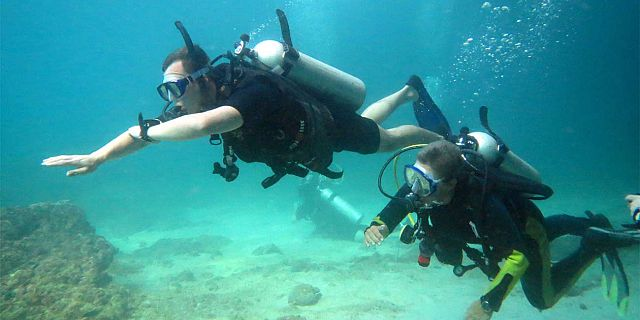 PADI open water diving course in mauritius (2)