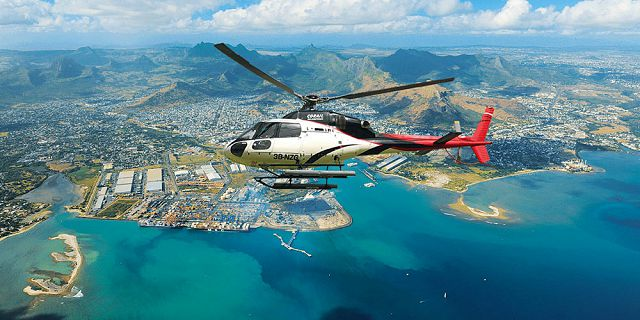 Group helicopter airport transfer (1)