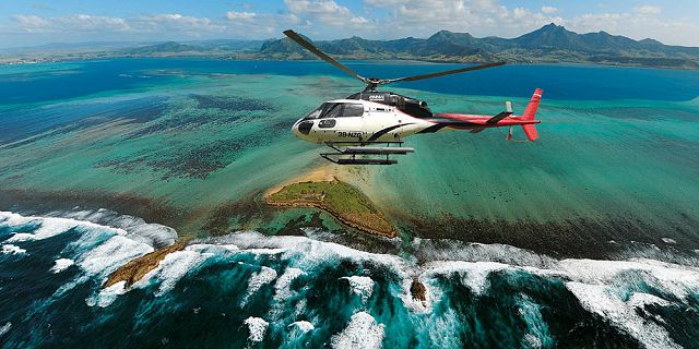 Group helicopter airport transfer (13)