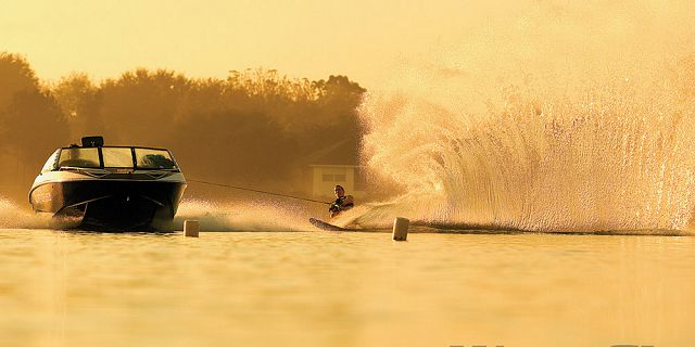 Wakeboarding in pointe d esny (1)
