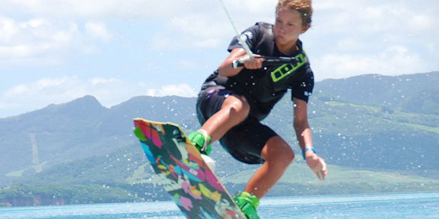 Wakeboarding in pointe d esny (5)