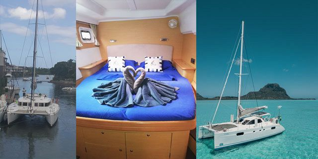 Day shared luxury catamaran cruise along west north coasts (03)