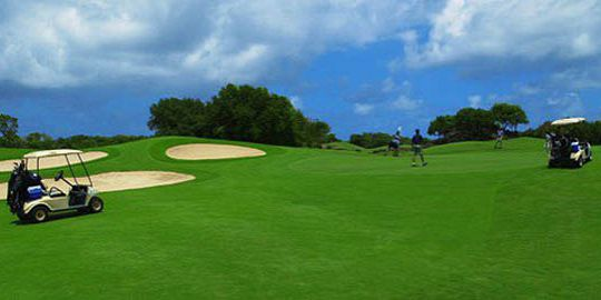 The links golf course mauritius