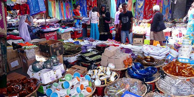 Shopping markets of mauritius