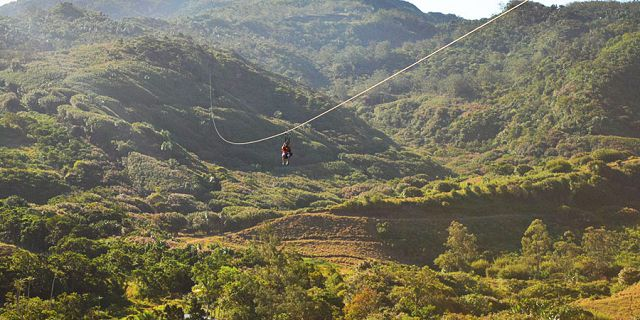 Zip line excursions at vallee des couleurs (6)