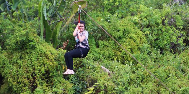 Zip line excursions at vallee des couleurs (8)