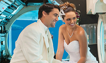 Luxurious Submarine Wedding