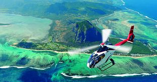 Ultimate Helicopter Sightseeing Tour in Mauritius- Private Trip