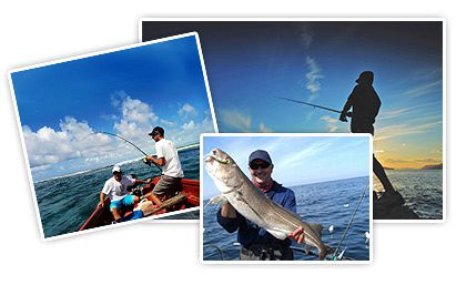 Fishing locations in Mauritius
