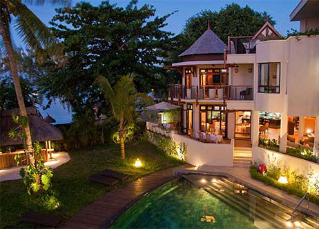 H bergement l ile maurice h tels et villas vacances for Hotels ile maurice