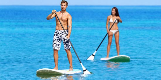 Le Stand Up Paddle (SUP) à Mont Choisy