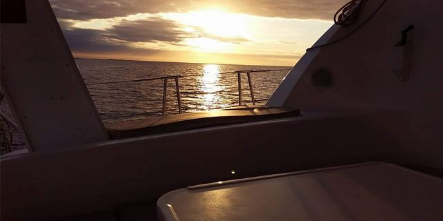 Luxury sunset catamaran cruise north coast (10)