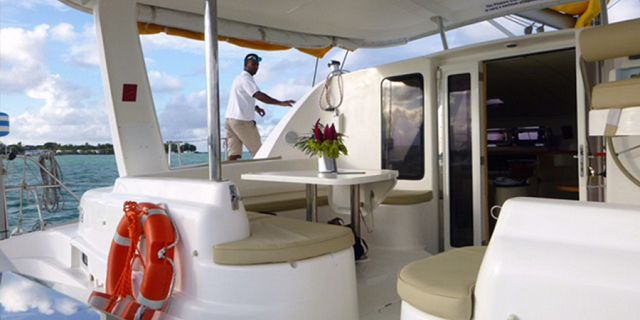 Luxury sunset catamaran cruise north coast (12)