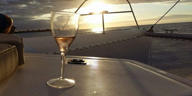 Luxury sunset catamaran cruise north coast (9)
