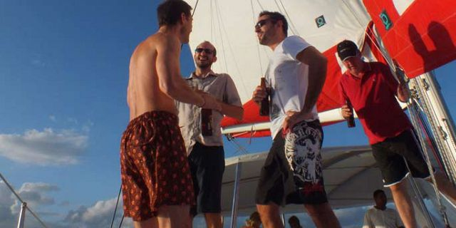 Catamaran sunset cruise in mauritius (2)