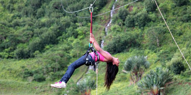 Zip line excursions at vallee des couleurs (1)