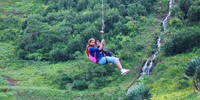 Zip line excursions at vallee des couleurs (10)